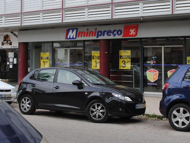 Кошта да Капарика. Супермаркет 'MiniPreço'