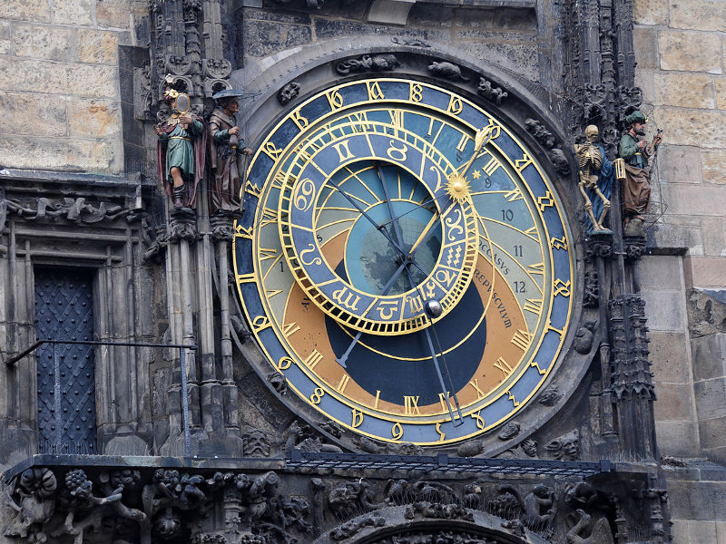Прага. Пражские куранты