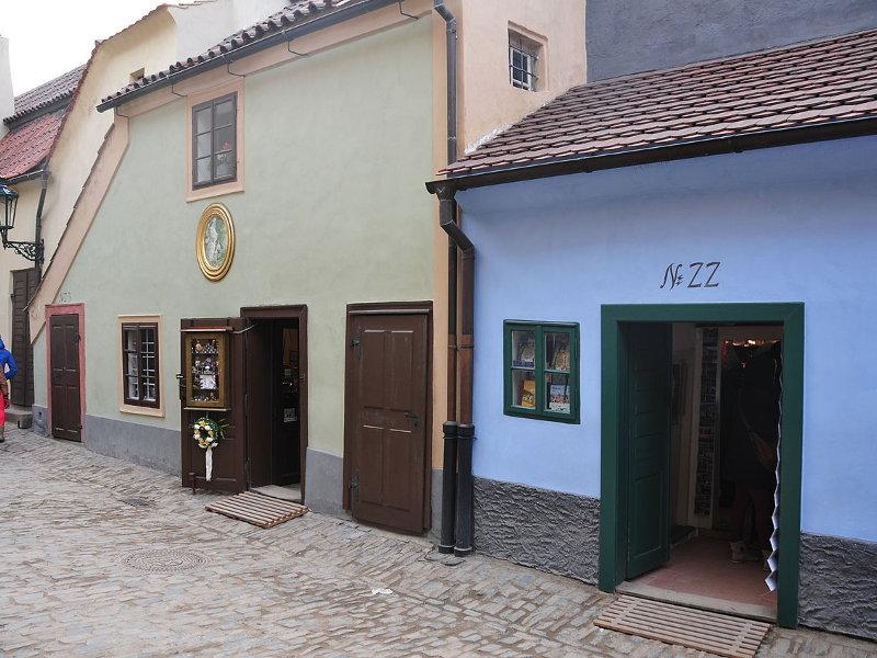 Прага. Злата Улочка