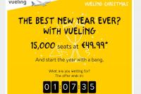 Новогодняя рспродажа авиабилетов от Vueling 2015