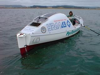 Ф.Конюхов. Переход через Тихий океан на весельной лодке.