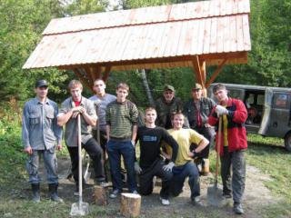 """Национальный парк """"Таганай"""" - ежегодный волонтерский лагерь 2013"""