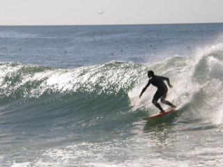 Кошта да Капарика. Серфинг.