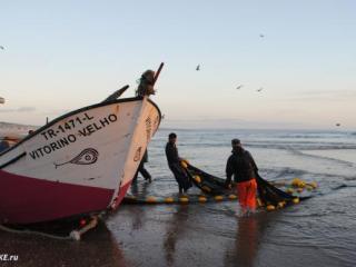 Путеводитель по Кошта да Капарике.. Португальские рыбаки и рыба