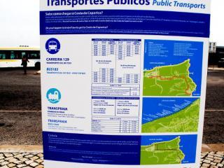 Кошта да Капарика - Транспорт, расписания