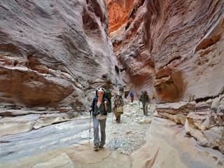 Туристический поход в Иорданию