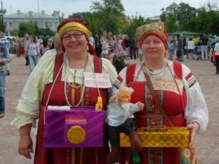 """Юбилейный концерт этно-дуэта  """"ТриДевятое царство"""""""