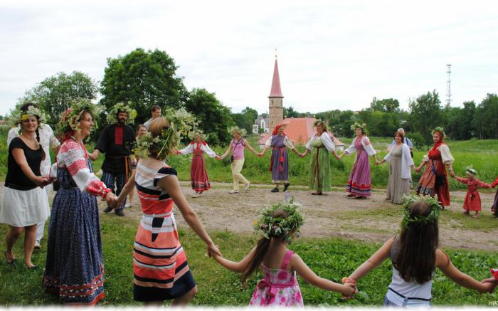Feast of the Trinity in Gatchina 2013